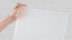plexiglas belgie half transparant