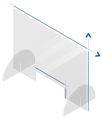 scherm plexiglas kopen op maat