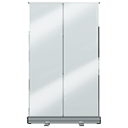 ViewRoll 120 x 205 cm – banner rollup transparent - icone