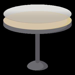 Protège table hygiénique sur mesure