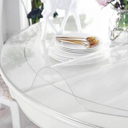transparant tafelzeil voor ronde tafel - icoon